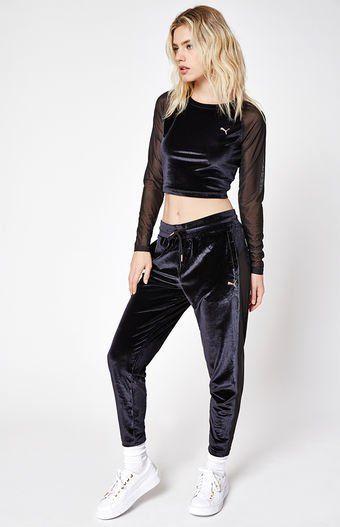 on sale 14914 4c7bd PUMA - Yogini Velvet Pants   PACSUN