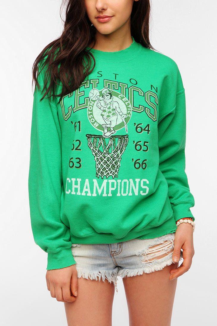 mobeddzz's save of Junk Food Boston Celtics Basketball Sweatshirt on Wanelo