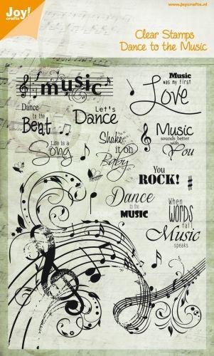 6410/0068 Noor! design Dance to the Music
