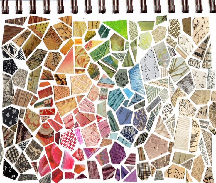 Sketchbook Cover Collage : Best cut paper illustration images on pinterest