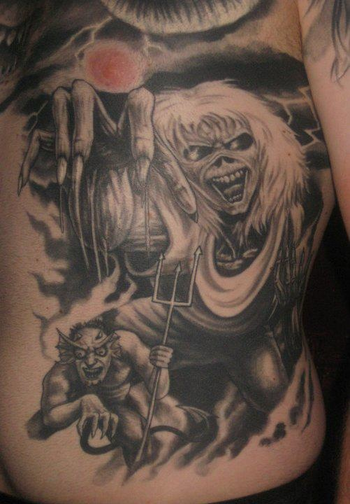 1000 images about tattoo of eddie from iron maiden on pinterest posts back tattoos and the head. Black Bedroom Furniture Sets. Home Design Ideas