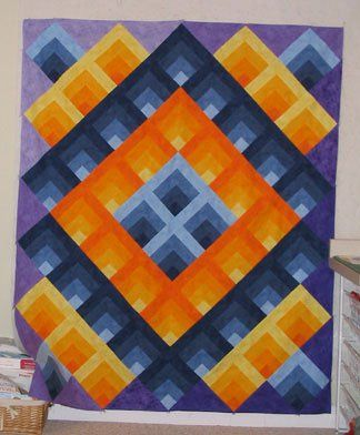 60 Best Images About Optical Illusion Quilts On Pinterest