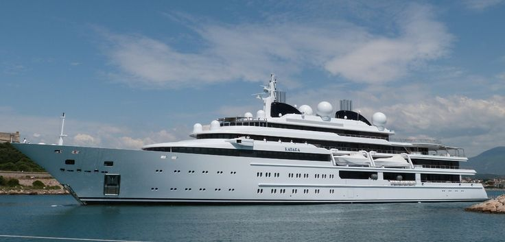 superyacht Katara one of the largest yachts in the world