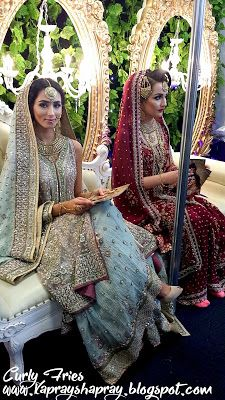 Makeup by Lubna Rafiq & Bridals by Khans of London - Muslim Lifestyle Show 2016