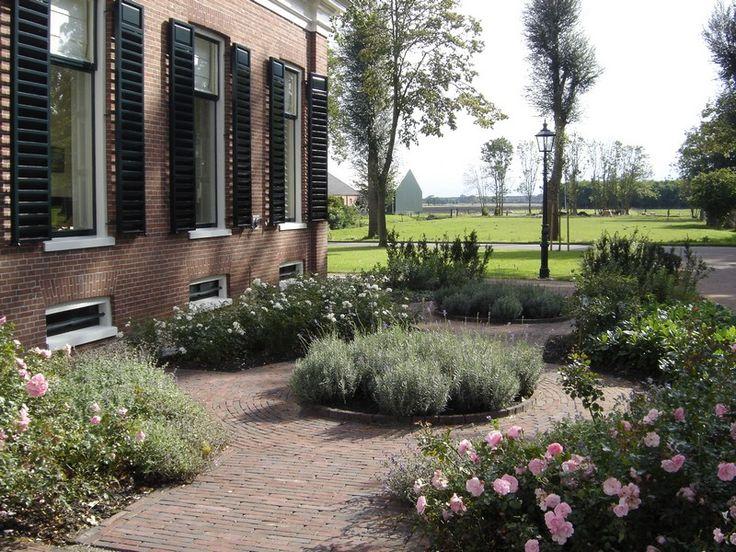 Tuinontwerp Groningen, Friesland en Drenthe » Klassieke landelijke tuin Finsterwolde