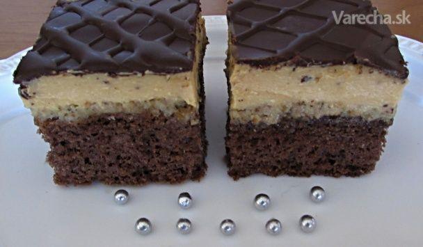 Orechovo-karamelový zákusok (fotorecept) - Recept