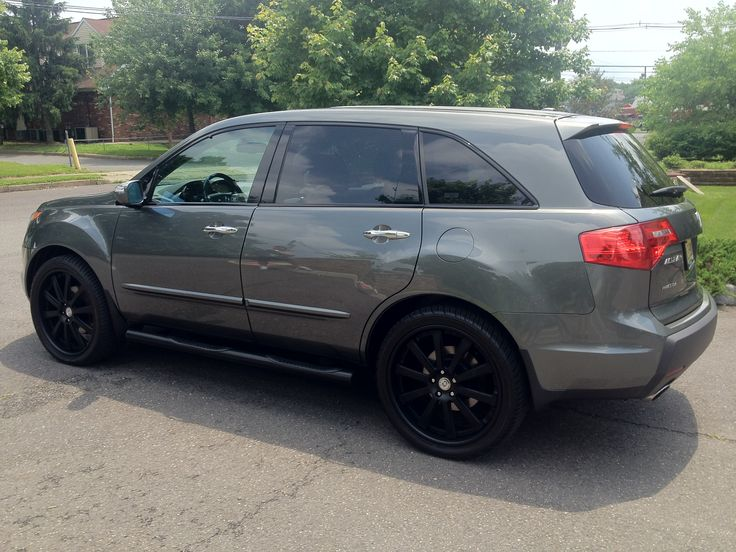 2008 Acura Mdx With Custom Built 22 Quot Hre Wheels Acura