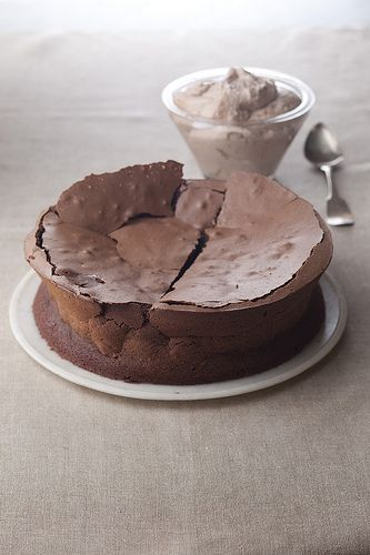 Flourless Chocolate Souffle