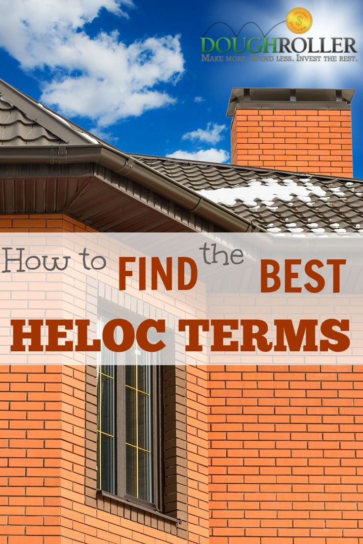 Do you have a home equity loan that needs refinancing? Here is how you can find the best HELOC terms.