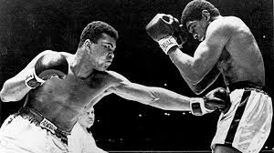 6th February 1967 Muhammad Ali TKOs Ernie Terrell in Round 15  for heavyweight boxing title.
