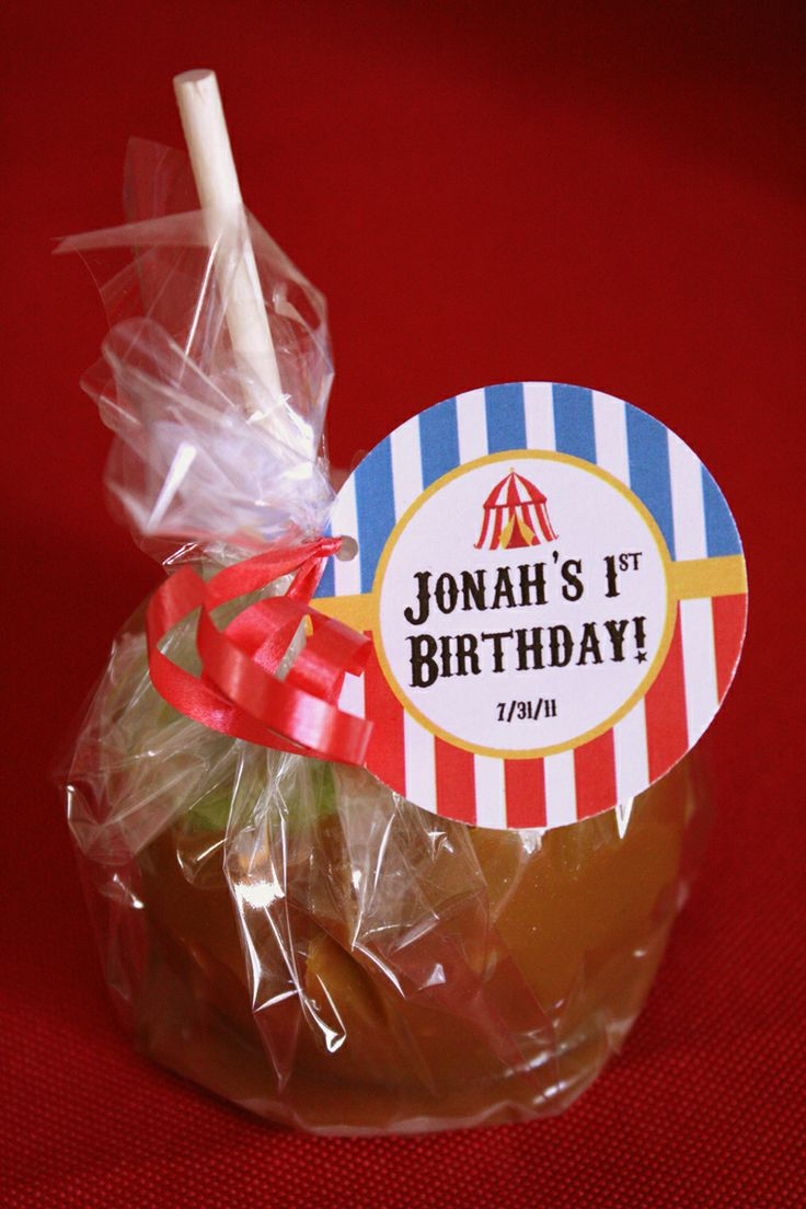 Carnival Party Caramel Apples