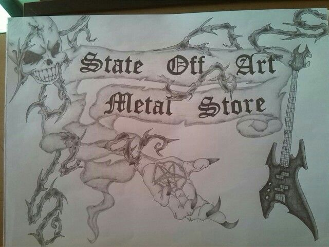 Shop State off art Metal store
