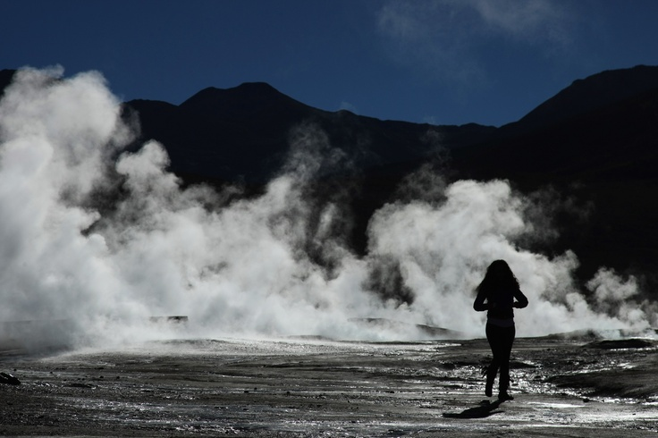 Tatio´s Geisers in Atacama Desert, Chile. If you want know more information about this trip visit us at www.cascada.travel