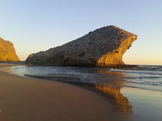 La playa de Monsul