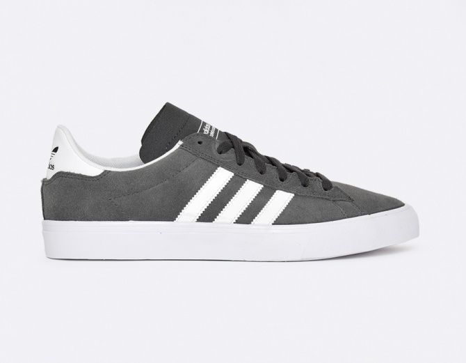 online store 6b635 56e5f ... Campus Vulc II ADV - Gris Mens Mid Tops - Adidas ...