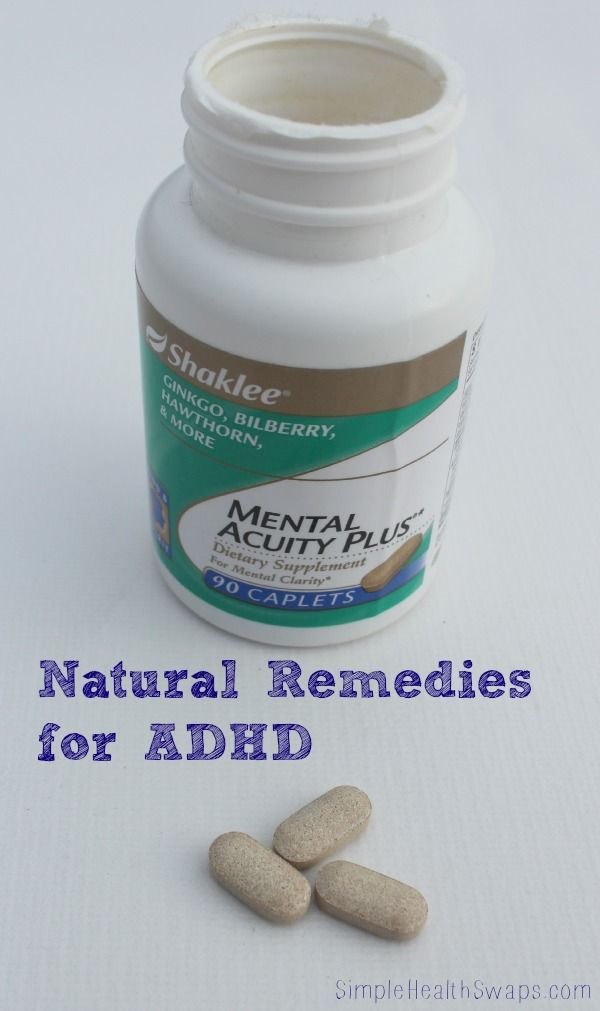 Natural remedies for ADHD. | Katie Marcum