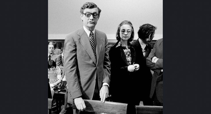 Not long out of Yale Law School, Hillary Rodham (right in 1974) joined the impeachment inquiry staff of the House Judiciary Committee, which was laying the groundwork for the impeachment of President Richard Nixon. She was one of only three women among the 43 lawyers on the staff, which was headed by Special Counsel John Doar (left). After Nixon resigned, the staff disbanded, and Rodham moved to Arkansas and married Bill Clinton in 1975. David Hume Kennerly/Getty Images