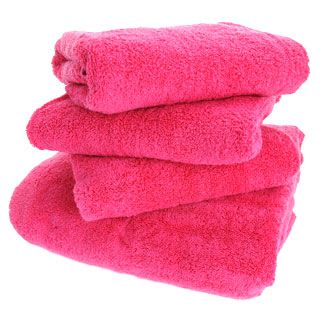 Bright Pink Towels