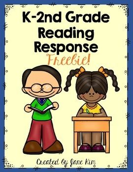 "FREE! Please download my Reading Response Freebie for your kids! This is perfect for your kindergarten critters who need a challenge, your ready-first graders who are writing sentences, and the beginning-succeeding second graders who need a helpful review!  It can be used in centers, for independent work, after whole-group lessons, or more! ENJOY!  This is a preview to my upcoming product next month. ""Reading Response Galore & More!"""