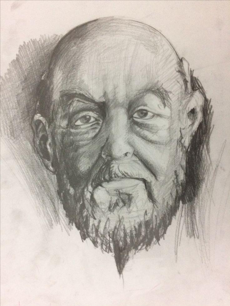 Portre çalışması