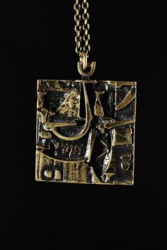 Jorma Laine Bronze Pendant