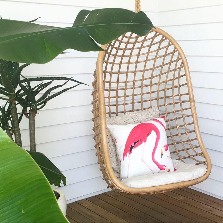 F L A M I N G O 🌴 Flamingo cushion by A Colourful Life Byron Bay  acolourfullife_byronbay