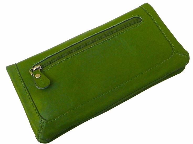 Portemonnaie Pepper Basic in grün von Taj Wood
