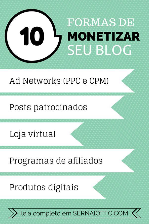 Como monetizar seu blog? Conheça 10 formas e suas vantagens!