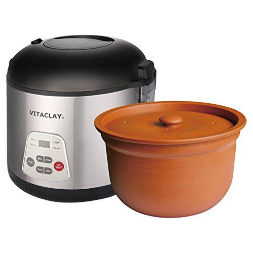 Want This! Vitaclay Slow Rice Cooker, 8 cups