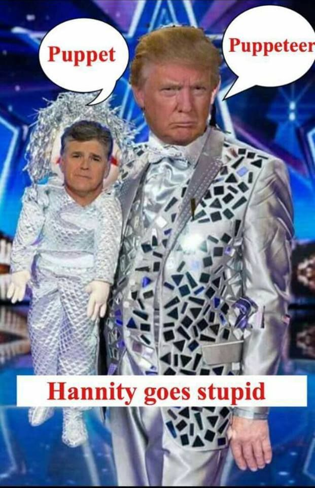 HANNITY GONE STUPID WITH ''DON THE CON' DONALD TRUMP! [VIDEO] http://therightscoop.com/sean-hannity-is-basically-a-trump-surrogate-in-interview-with-tedcruz-video/