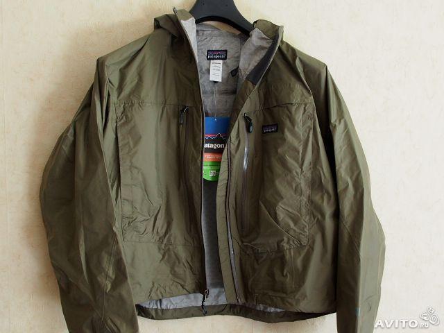 Продается новая  забродная куртка Patagonia Deep wading jacket размер L -50/52 Легкая дышащая непромокаемая , мембрана H2NO
