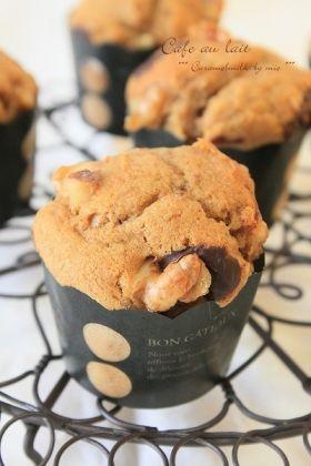 「ふわふわ♪ カフェオレ・マフィン」きゃらめるみるく   お菓子・パンのレシピや作り方【corecle*コレクル】