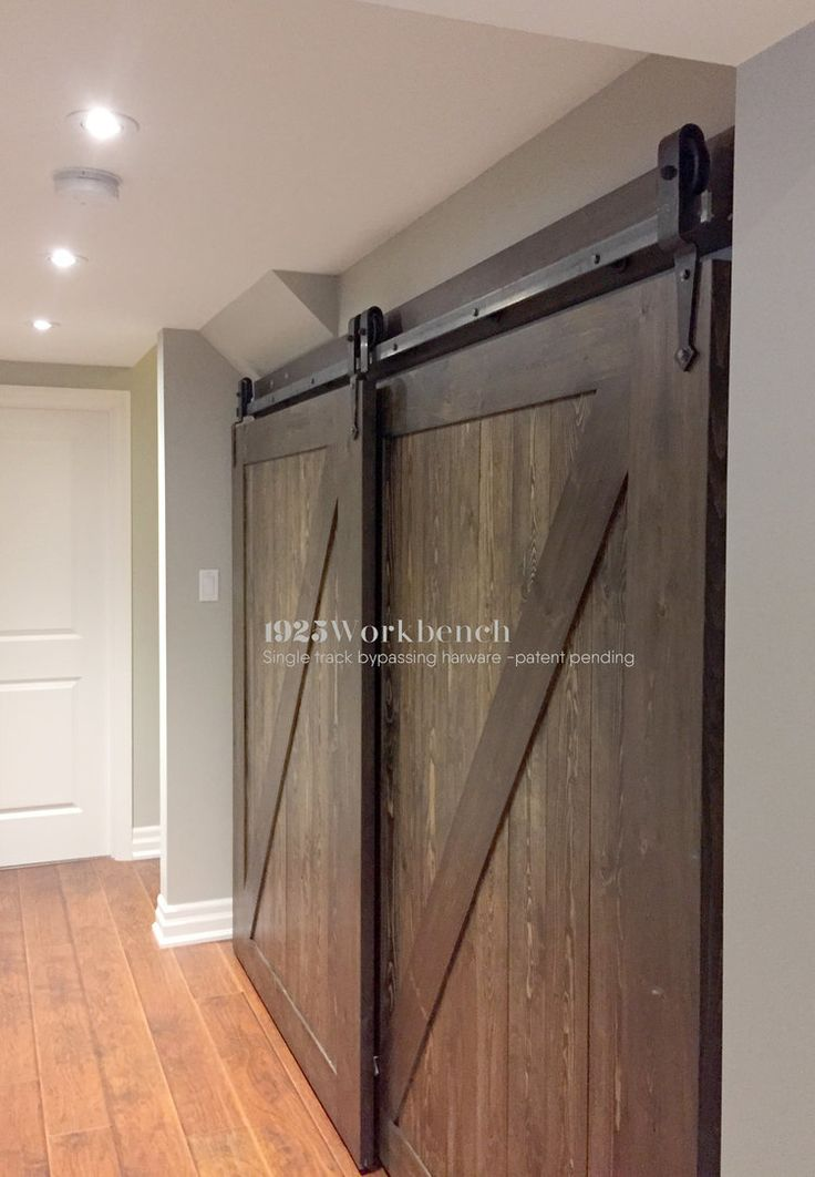 Single Track Bypassing Hardware Arrowhead Doors In 2019