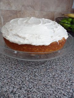 Last week I came across a recipe for a pumpkin cake,it was my favorite kind of recipe. You know,a recipe with only 2 ingredients! Well I r...