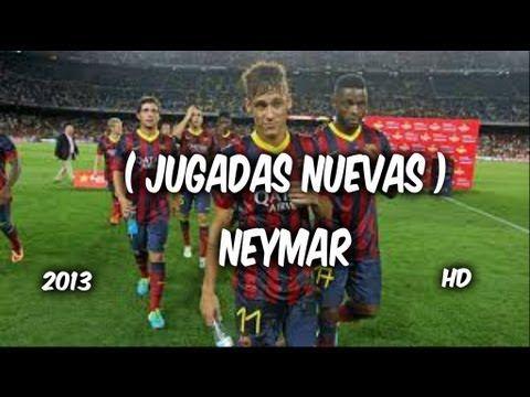 ▶ Jugadas De Neymar 2013 ( NUEVAS ) nuevas jugadas de NEYMAR ( soy de barrio ADAN ZAPATA ) - YouTube