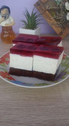 Túrós-meggyes sütemény