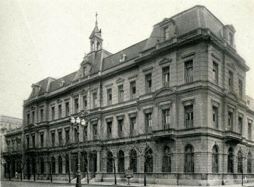 Colegio Sagrado Corazón, callao y juncal, demolido