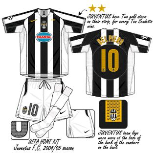 Juventus | home jersey | 2004-05