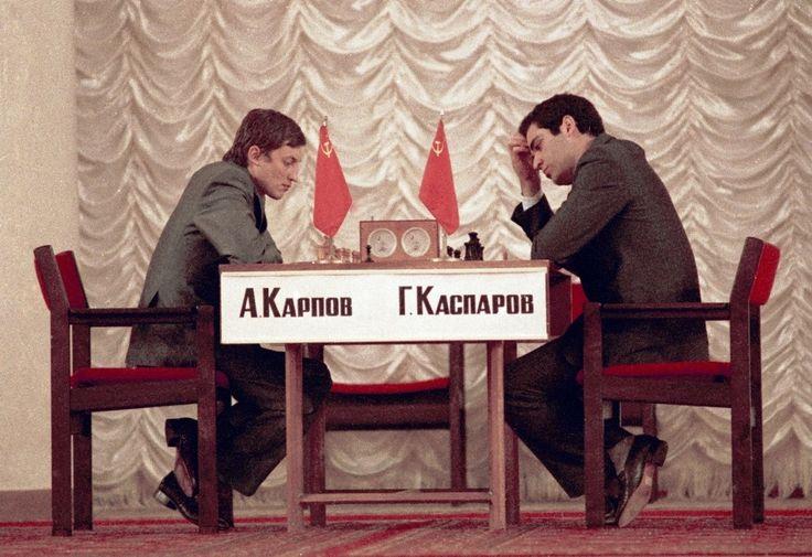 Anatoly Karpov vs. Gary Kasparov 1984