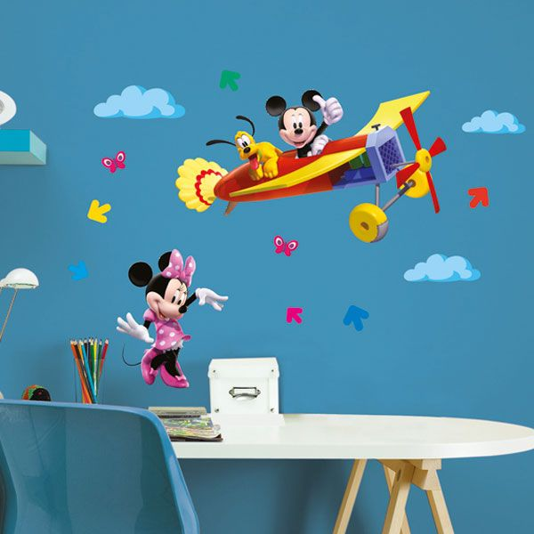 Mickey ClubHouse L - wallsticker