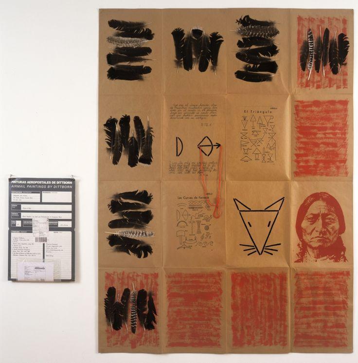 Eugenio Dittborn   Works   Alexander and Bonin