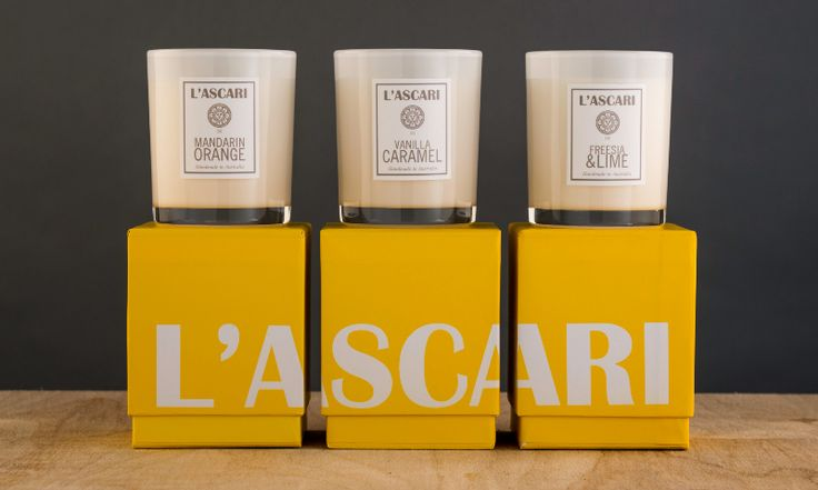 L'ascari candles. Or anything from L'ascari is fine