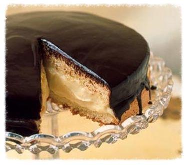 Boston Cream Pie ~ A classic dessert! :): Desserts, Cream Pies Recipes ...
