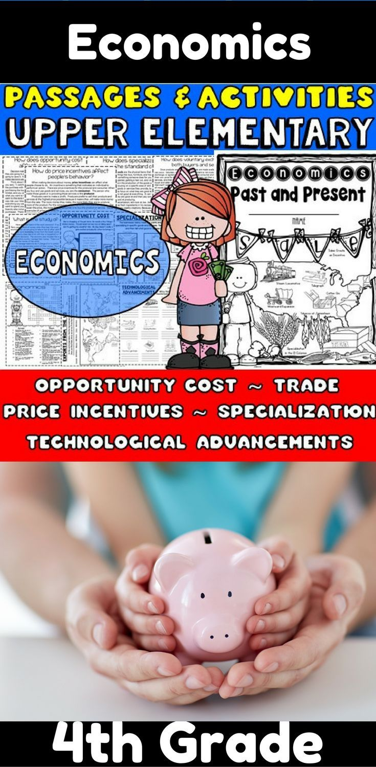 Economics Packet: I designed this packet and wrote the passages with the Georgia social studies standards in mind. These passages about economics are not specific to GA though, so they can be used by any teacher covering the same topics, which are:   ✱Opportunity cost ✱Decision making ✱Price incentives ✱Specialization ✱Voluntary Exchange ✱Trade ✱Technological advancements ✱ A few other basic terms are incorporated, such as goods/services, consumer/producer, scarcity and a few more.
