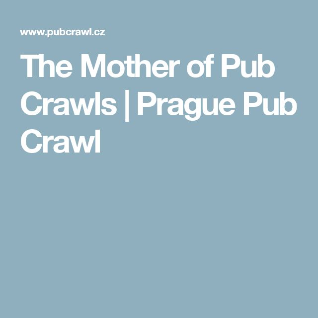 The Mother of Pub Crawls | Prague Pub Crawl