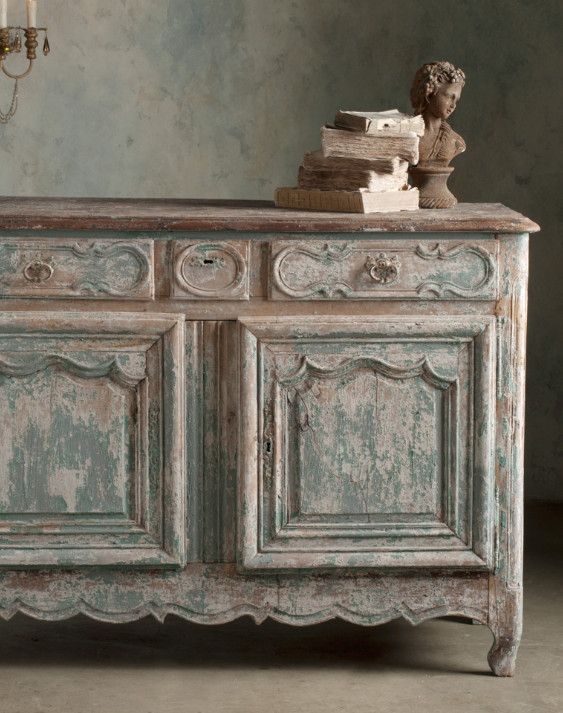Love the distressed finish