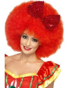 Wig: Women's Large Clown Wig £8.99 what a fantastic wig for a Circus themed costume. See our circus fancy dress costumes