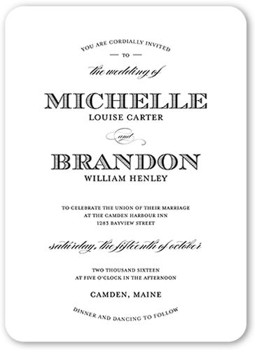 Wedding invitations from Shutterfly - $99.60 for 20