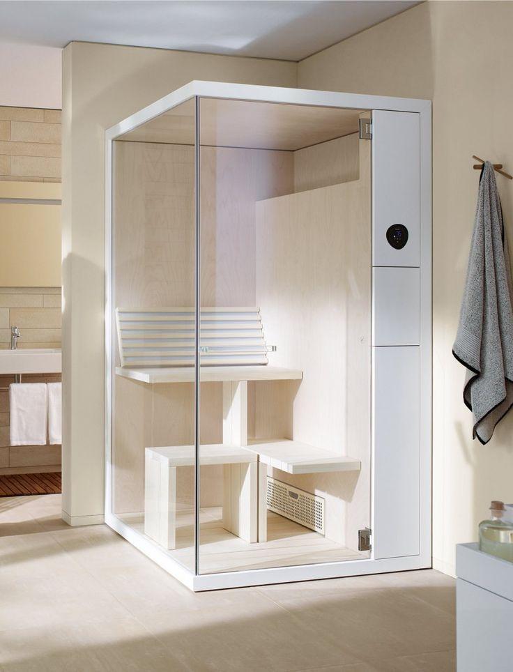 Sauna angolare Inipi B Super Compact di Duravit #duravit #saune #home #house #casa #cosedicasa #bagno