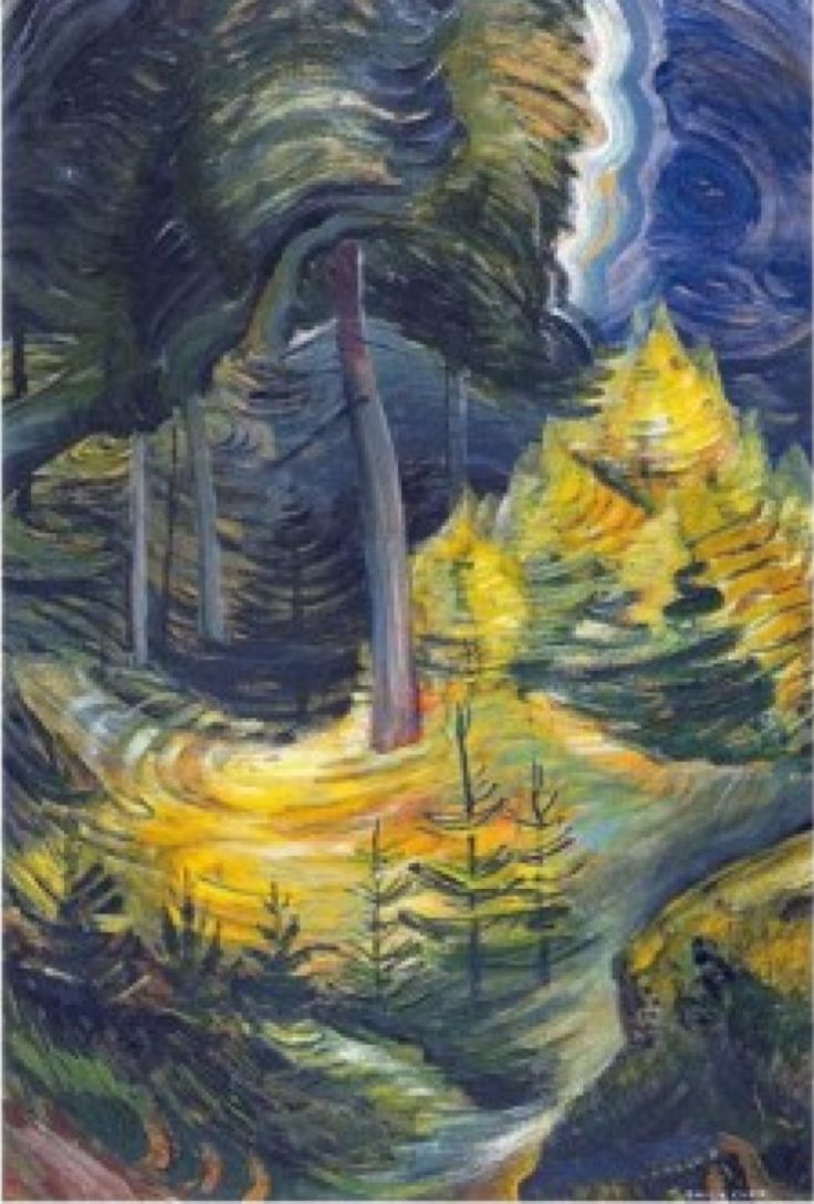 BC Forest by Emily Carr